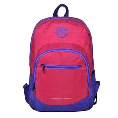 Benetton Okul Çantası Renkli